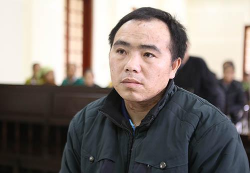 Bị cáo Xênh tại tòa. Ảnh: Nguyễn Hải.