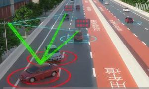 Con đường thông minh giúp tài xế giao tiếp với nhau