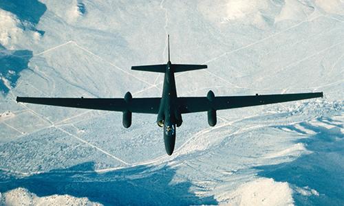 Trinh sát cơ U-2 của Mỹ. Ảnh: US Air Force.