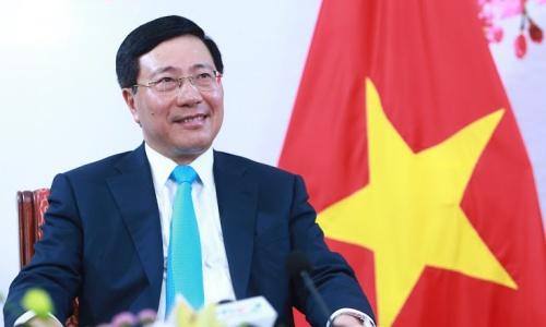 Phó thủ tướng Phạm Bình Minh. Ảnh: Hà Trung.