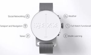 Chiếc đồng hồ thay đổi cuộc sống của người khiếm thị