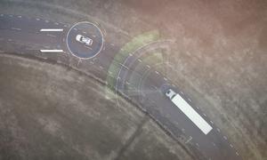 Hệ thống phanh tự động dừng ôtô tải trong vài giây