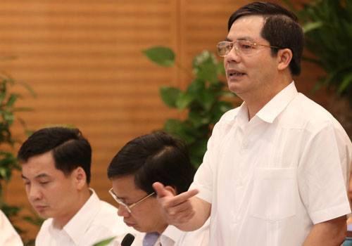 Giám đốc Sở Nội vụ Hà Nội Trần Huy Sáng. Ảnh: Võ Hải.