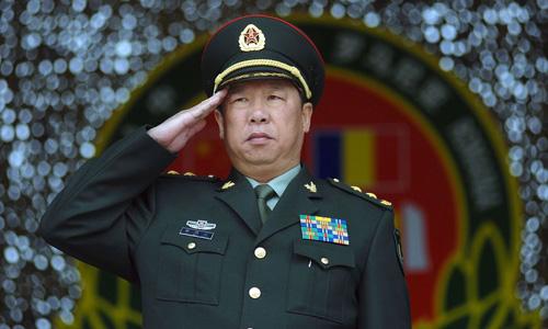 Tổng tham mưu trưởng quân đội Trung Quốc Lý Tác Thành. Ảnh: AP.