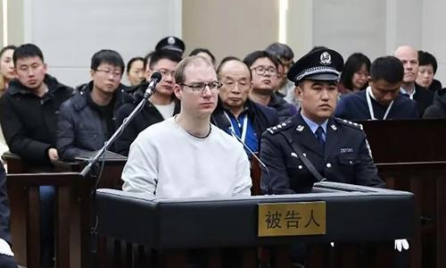Robert Lloyd Schellenberg tại tòangày 14/1. Ảnh: AFP.