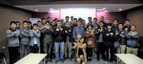 Sinh viên FUNiX tại Hà Nội khai giảng năm học mới.