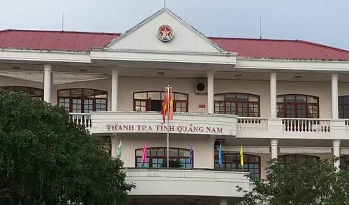 Trụ sở Thanh tra tỉnh Quảng Nam, nơi ông Nghị công tác. Ảnh:Đắc Thành.