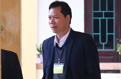 Cựu giám đốc bệnh viện tỉnh Hòa Bình Trương Quý Dương. Ảnh: Phạm Dự.