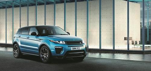 Ngoại thất trẻ trung và sành điệu của Range Rover Evoque.