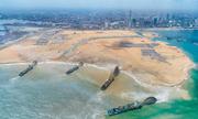 Công ty Trung Quốc thi công thành phố lấn biển Ấn Độ Dương