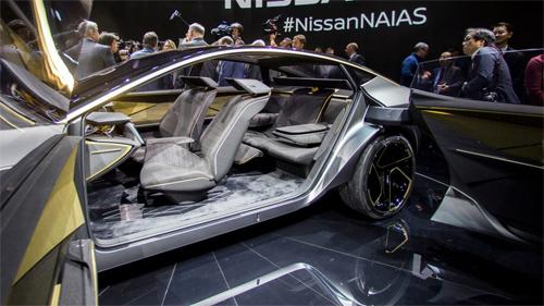 Nissan IMs concept ra mắt tại triển lãm ôtô Detroit với thiết kế cửa mở ngược, động cơ điện, dẫn động 4 bánh và ghế sau biến hóa linh hoạt.