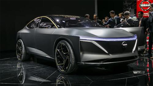 Nissan IMs concept ra mắt tại triển lãm ôtô Detroit.