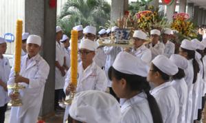 Thầy trò trường y ở Sài Gòn tri ân người hiến xác