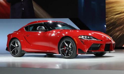 Toyota Supra 2020 ra mắt tại triển lãm Detroit 2019. Ảnh: Carscoops.