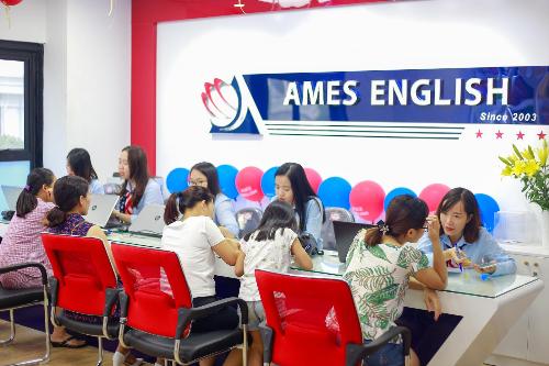 Phương pháp học tập ứng dụng A.I giúp Ames English ghi điểm với học viên và phụ huynh.