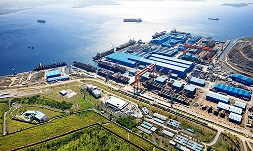 Nhà máy đóng tàu Hanjin tại vịnh Subic, Philippines