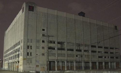 Tòa nhà tại thành phố Detroit, bang Michigan, Mỹ, nơi Jonathan Mazqai