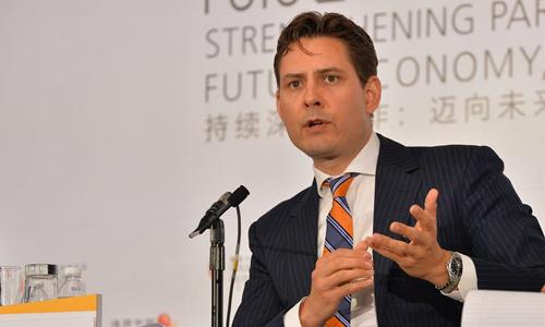 Cựu nhân viên ngoại giao Canada Michael Kovrig. Ảnh: AP.