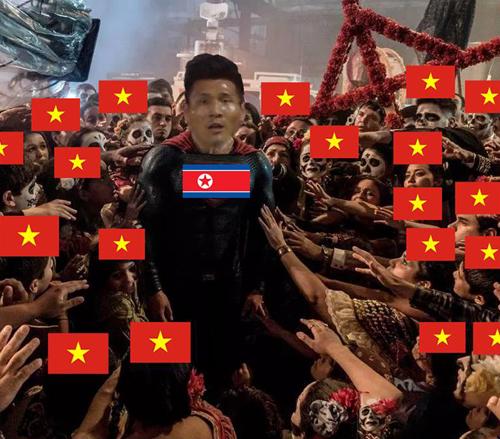 Công to lớn nhất thuộc về các cầu thủ Triều Tiên.