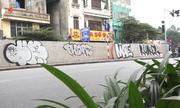 Đường trăm tỷ ở Hà Nội bị bôi bẩn