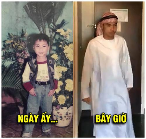 Hoàng tử Ả Rập xưa và nay.