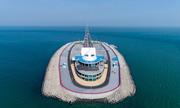 Hệ thống chống bão trên đảo nhân tạo 100.000 m2 của Trung Quốc