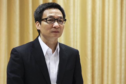 Phó Thủ tướng Vũ Đức Đam. Ảnh: Dương Tâm.