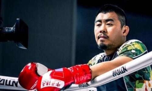 Từ Hiểu Đông thách đấu nhà vô địch kickboxing