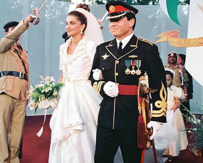 Gu thời trang sành điệu của Hoàng hậu Jordan