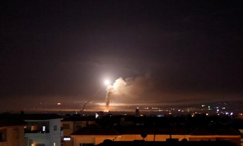 Phòng không Syria tuyên bố đẩy lùi không kích từ Israel