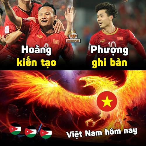 Khi Phượng Hoàng hợp sức thì Việt Nam vô đối.