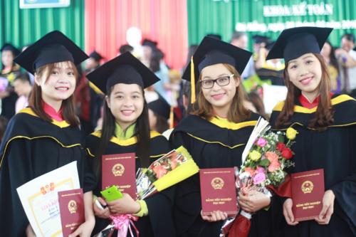 Sinh viên Đại học Đà Nẵng trong lễ tốt nghiệp. Ảnh: Đại học Đà Nẵng