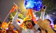 CĐV dành nhiều lời khen ngợi các cầu thủ Việt Nam