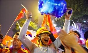 CĐV dành nhiều lời khen ngợi đội tuyển Việt Nam