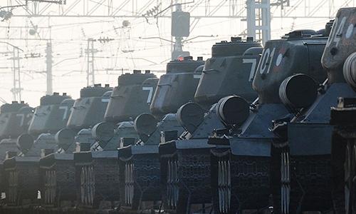 Tăng T-34 Lào chuyển cho Nga