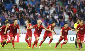 Hơn 120 phút thăng trầm của CĐV cùng đội tuyển Việt Nam