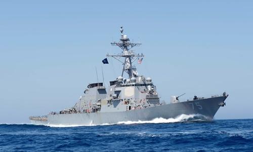 Khu trục hạm Mỹ Donald Cook. Ảnh: US Navy.