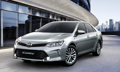 Camry bản lắp ráptại thị trường Việt Nam. Ảnh: Toyota.