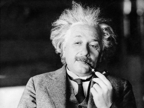 Thiên tài Albert Einstein được xác định có chỉ số IQ khoảng 160-190. Ảnh: AP
