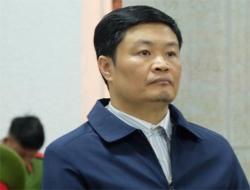 Bị cáo Đinh Văn Ngọc. Ảnh: N.Anh.