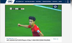 Những cầu thủ Việt Nam được truyền thông thế giới đánh giá cao