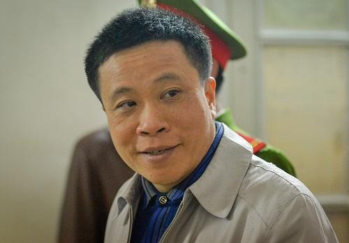 Ông Hà Văn Thắm tại phiên tòa. Ảnh: BH.