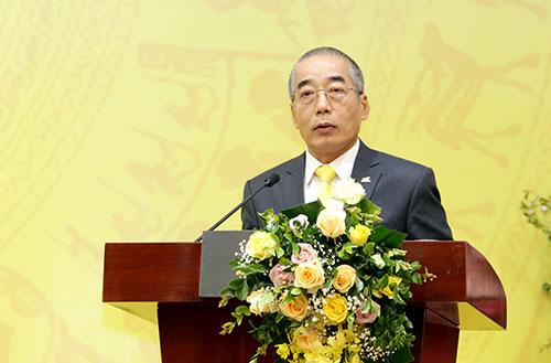 Ông Nguyễn Quốc Vinh phát biểu tại hội nghị. Ảnh: Anh Tuấn.