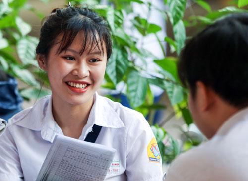Thí sinh TP HCM dự thi THPT quốc gia năm 2018. Ảnh: Quỳnh Trần.