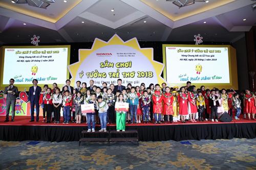 Chung kết và trao giải sân chơi Ý tưởng trẻ thơ năm 2018 - 1