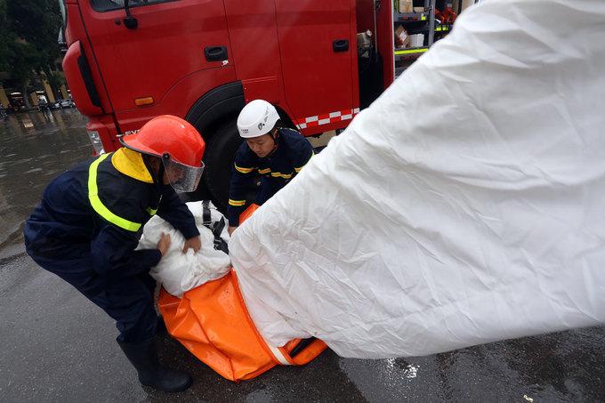 Dàn xe chữa cháy 22 triệu USD của Bộ Công an