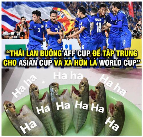 Thái Lan - Nói trước bước không qua.