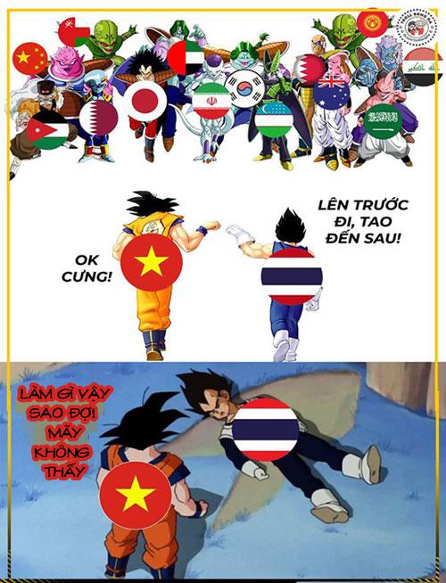 Hai đại diện của bóng đá Đông Nam Á giờ chỉ còn Việt Nam.