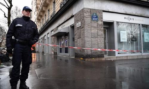 Cướp vét sạch 30 két tiền tại ngân hàng gần trung tâm Paris