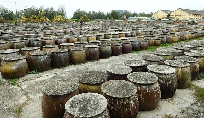 Quy trình làm nước mắm truyền thống ở Quảng Ninh